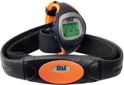 Pyle  Heart Rate Monitor - Black/Orange