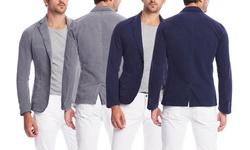 Desigual Men's Recillia Blazer - Gray - Size: 56