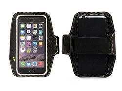 "Griffin iPhone 6s/6 Armband, Trainer Sleeve and Armband for iPhone 6/6s, [Neoprene] [Fits arms up to 18""]"