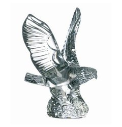 Waterford Crystal Collectibles Eagle Paperweight - Clear