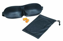 Luresity Sleep Mask with Carry Pouch and Ear Plugs
