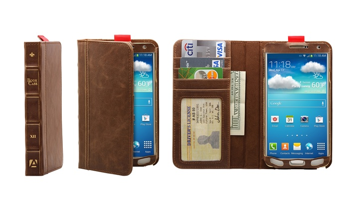 brand new 2c27f 35286 Aduro BookCase Folio & Wallet Case for Samsung Galaxy Note 3 - Brown -  Check Back Soon