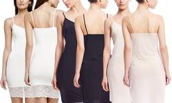 Yummie by Heather Thomson Women's Kim Slip - Black - Size: Large