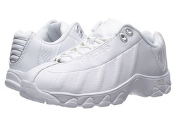 K-Swiss Women's ST329 CMF Training Shoe - White/Silver - Size: 11
