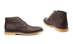 Vincent Cavallo Men's Chukka Boots - Brown - Size: 11