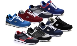 Dream Seek Men's Fashion Sneakers - Black-Gray-Royal Blue - Size: 8.5