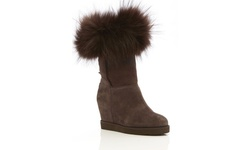 Australia Luxe Women's Foxy Wedge - Beva Brown - Size: 42