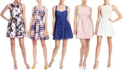 Minuet Women's Twist Ruched Bodice Short Dress - Coral - Size: Medium