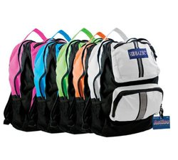 "BAZIC 17"" Active Backpack,color may vary"