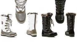 Superfit Women's Rhoda Weather Boots - Black - Size: 10
