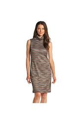 Chetta B Women's Sleeveless Turtleneck Sheath Dress - Multi - Size: 4