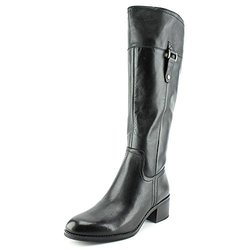 Franco Sarto Women's Lizbeth Wide Calf Boot - Black Safari - Size: 9M