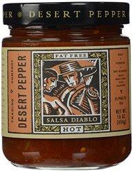 Desert Pepper Fat Free Hot Salsa Diablo - 16Oz