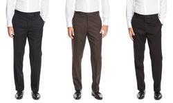 Greg Norman Wool Pant - Black - Size: 36/30