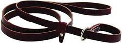 "Auburn Leathercraft Kennel Slip Lead - Burgundy - Size: 5/8"" x 72"""