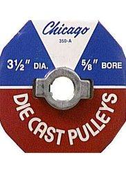 Chicago Die Casting #350A6 5/8x3-1/2 Pulley