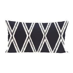 E By Design Gate Keeper Geometric Print Outdoor Seat Cushion - Bewitching