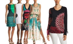 Desigual Women's Printed Dress - Multi - Size: 38