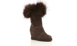 Australia Luxe Women's Foxy Wedge Boots - Beva - Size: 40