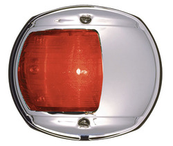 Perko Series Navigation Red Side Light - Chrome