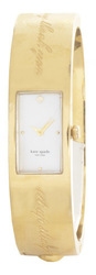 Kate Spade New York Women's Pearl Dial Gold Carousel Bangle Watch