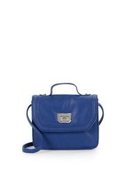 Bcbgeneration Women's Faux Leather Mini Satchel - Blue