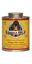 Gorilla 4oz Clear Low VOC PVC Cement (R-04000)