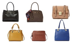 London Fog Women's Layla Flap Crossbody Handbag - Black - Size: Small