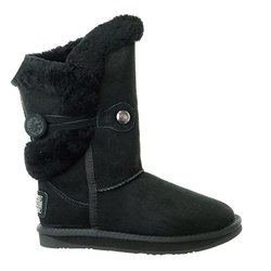 Australia Luxe Nordic Shearling Short Winter Boot - Black - Size: 10