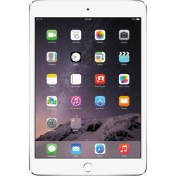 """Apple iPad Mini 3 7.9"""" Tablet 16GB Wi-Fi + 4G LTE - Silver (MH3F2LL/A)"""