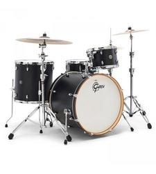 "Gretsch Drums Catalina Club 22"" Bass Drum - Flat Black (CT1-1822B-FB)"