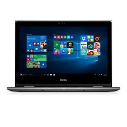 "Dell i5368-4071GRY 13.3"" FHD 2-in-1 Laptop (Intel Core i5-6200U 2.3GHz Processor, 4 GB RAM, 128 GB SDD, Windows 10) Gray"