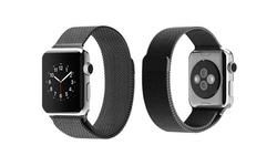 Mesh Band with Magnetic Closure for Apple Watch - Black - Size: 42mm