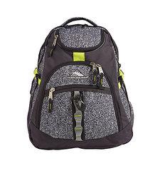 High Sierra Access Backpack - Static Mercury Zest