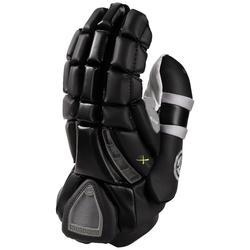 """Maverik Rome RX3 Lacrosse Goalie Gloves - Black - Size: 14"""" XL"""