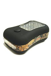 Fierce Products LED Utility Flashlight with Magnet and Hook, Mossy Oak Camo