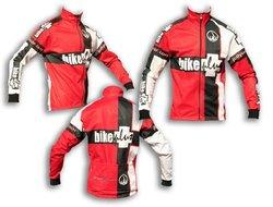 Jollywear Men's Bike Plus Winter Cycling Jacket - Red - Size: Large