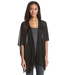 Cejon Women's Polyester Scarf (black)