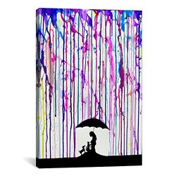 Cradle by Marc Allante Canvas Wrap, 18x12