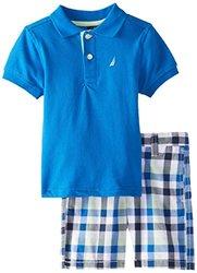 Nautica Toddler Boy's 2-Piece Shorts Set - Brilliant Blue - Size: 2T