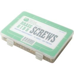 HD Supply 300 Piece Brass Bibb Screws Assortment