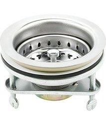 MW Kitchn Stainless Sink Strainer - Chrome