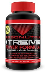 Absonutrix Xtreme Nitric Oxide L-Arginine 3000mg Tablets - 120 ct.