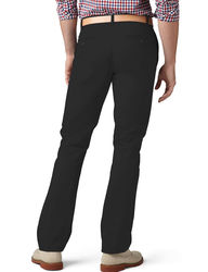 Dockers Mne's Modern Solid Color Khaki Pants - Black - Size: 42 X 30