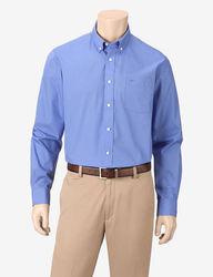 Dockers Men's Hanging Teal Woven Shirt - Medium Blue - Size: XL