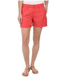 Calvin Klein Women's Linen Shorts - Wildflower - Size: 30