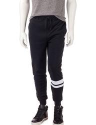 DC Shoes Men's Solid Color Prime Fleece Jogger Pants - Charcoal - Size: XL