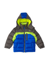 Vertical 9 Toddlers Boys Promo Puffer Jacket - Charcoal - Size: 4