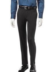Axist Men's Micro Melange Flat Front Pants - Black - Size: 32 X 30