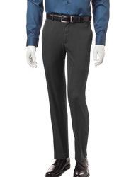 Axist Men's Micro Melange Flat Front Pants - Charcoal - Size: 34X30
